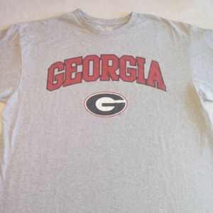 Majestic Georgia Bulldogs Shirt Short Sleeve E